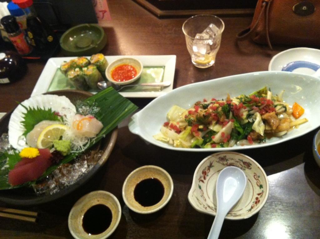 Food in Suishin, Japan
