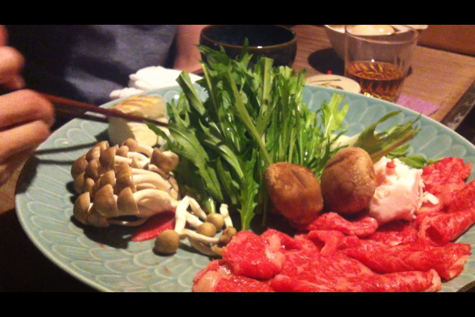 Meal in Gion
