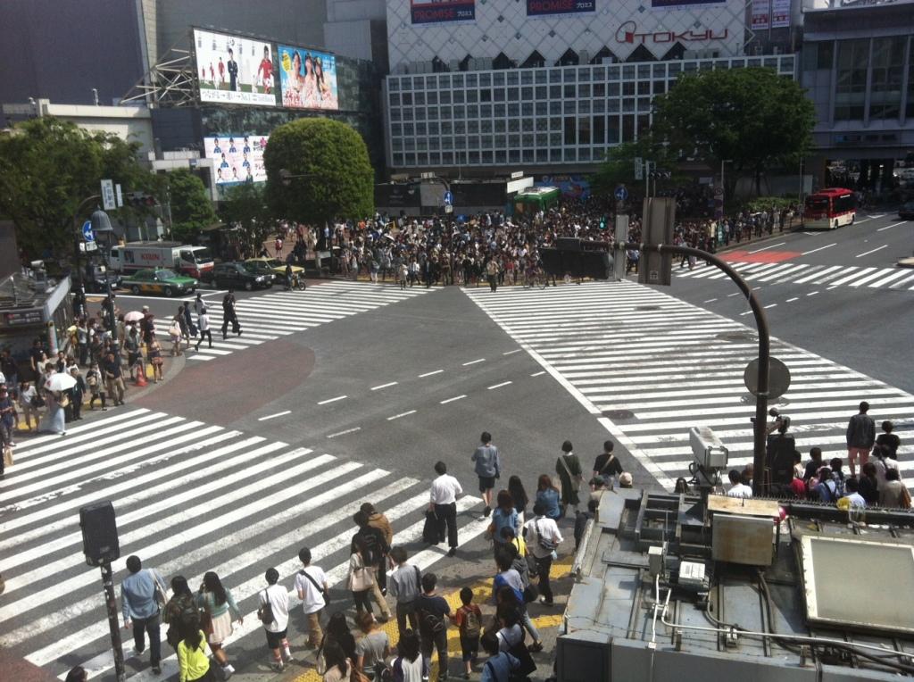 Shibuya crossroads