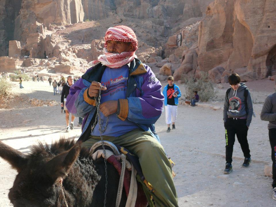 Man in Jordan