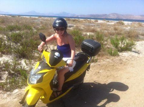 Motorbike in kos