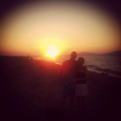 Sunset in Kos